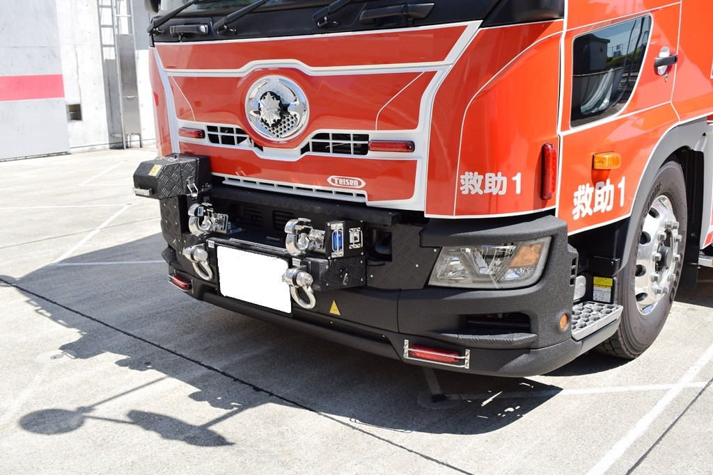 消防車両2