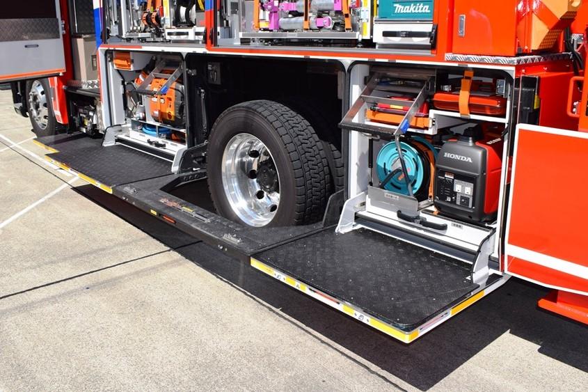 消防車両3