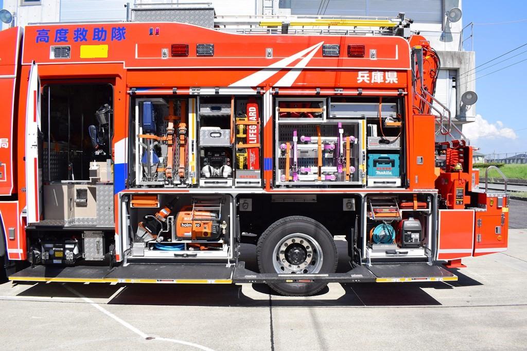 消防車両7